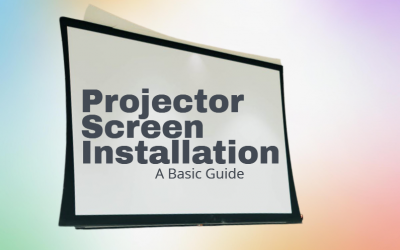 Projector Screen Installation: A Basic Guide